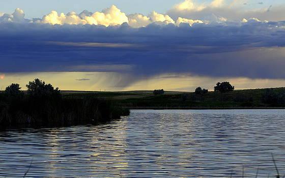Across The Lake by Clarice  Lakota