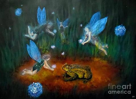 Acrylic paint Fairy by Danse DesSonges