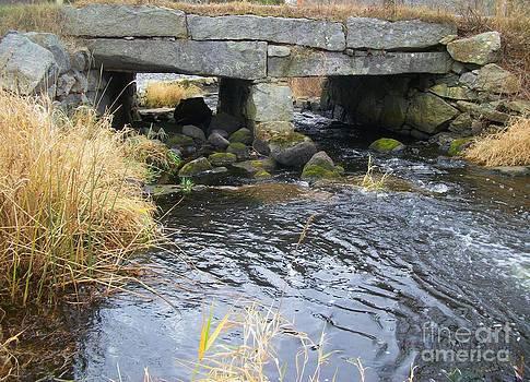 Acushnet River - Massachusetts by Spirit Baker