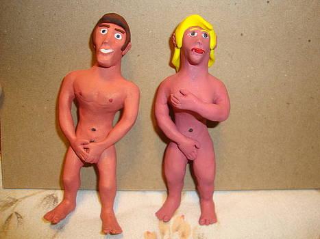 Adam And Eve by Scott Faucett
