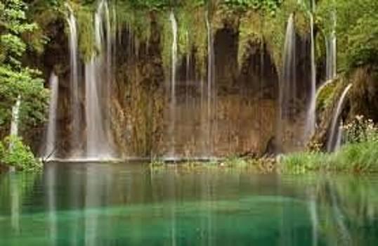 Adeyemi Fawole - Waterfall by ADEYEMI FAWOLE Hamilton Adeyemi Fawole NZ