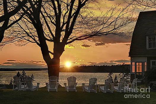 Brenda Giasson - Adirondack Sunset