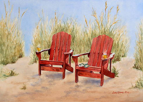 Adirondack Thrones by Lisa Pope