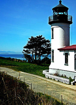 Kevin D Davis - Admiralty Head Lighthouse View