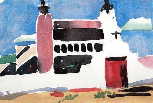 Adobe Church by Owen Hunt