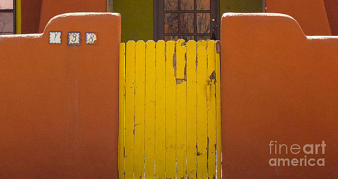 Adobe Yellow Gate by Nancy Yuskaitis