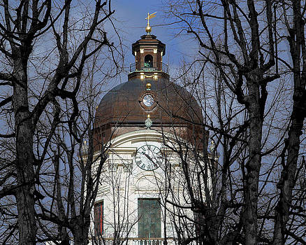 Adolf Fredriks kyrka Stockholm by Evgeny Lutsko