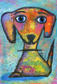 Adorable Dog by Lynda Metcalf