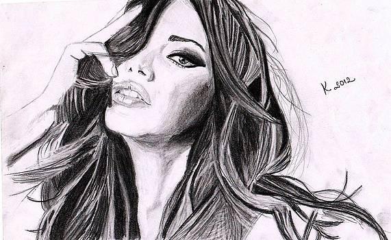 Adriana Lima 2 by Kristina Mladenova