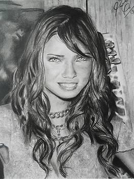 Adriana Lima by Luis Carlos A