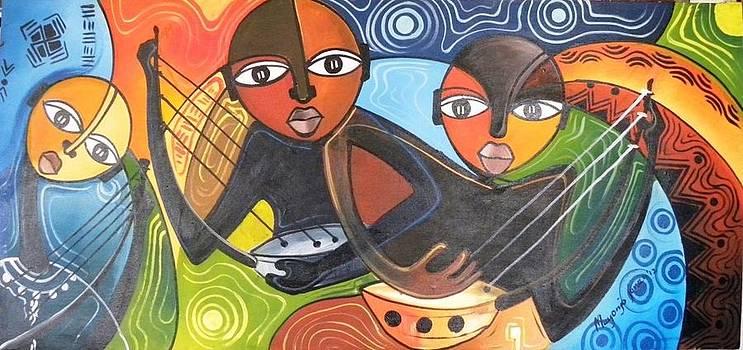 Adunga Players by Muyonjo