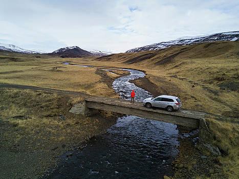 Adventure Looking Into Westfjords by Brandon Huttenlocher