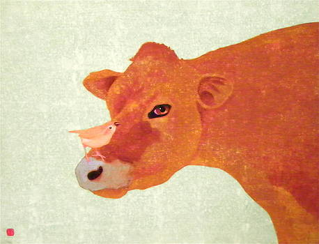 Advising a Cow by John Pinkerton
