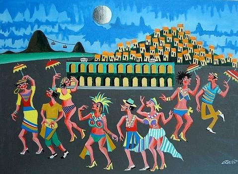 Aecio Tema Carnaval No A Venda Com Ajur Sp  Rio Medida 50x70  by Naifjunior Naifjunior