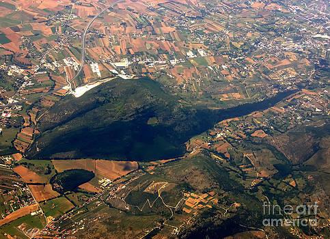 Justyna Jaszke JBJart - Aerial photography - Hill like a big mouse