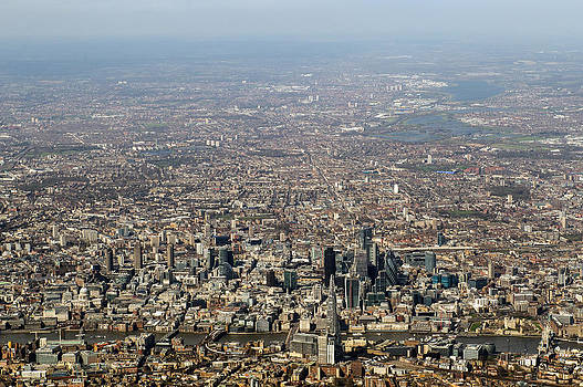 Gary Eason - Aerial view of the City of London