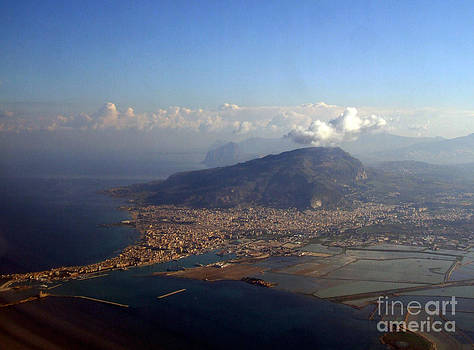 Aerial view of Trapani by Mary Attard