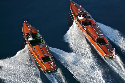 Steven Lapkin - Aerial Wooden Boats