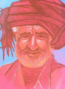 Afghan Man by Cristel Mol-Dellepoort
