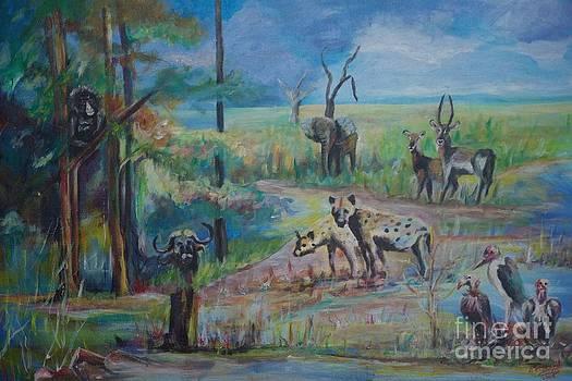 Africa wild by Ainsworth Mckend