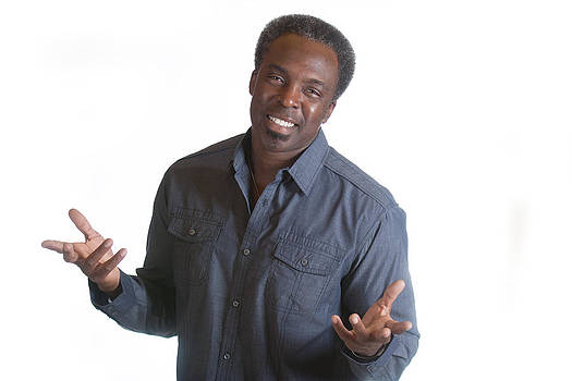 Gunter Nezhoda - african american man with open arms