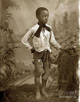 California Views Mr Pat Hathaway Archives - African American Young Black Boy circa 1900