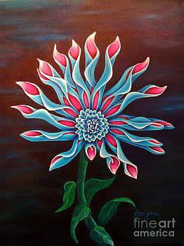 African Daisy by Gunes Yilmaz