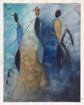 African Dance by Rina Bhabra