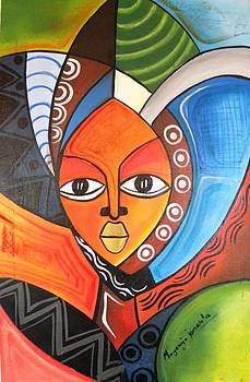African Face by Muyonjo
