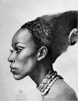 African Girl by Anto