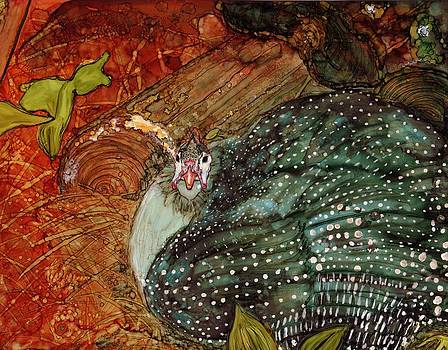 African Guinea Hen by Romanita Pulliam-Hollyman