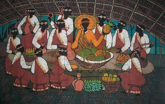 African Last Supper by Lukandwa Dominic