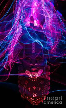 African mask by Shawn  Bowen
