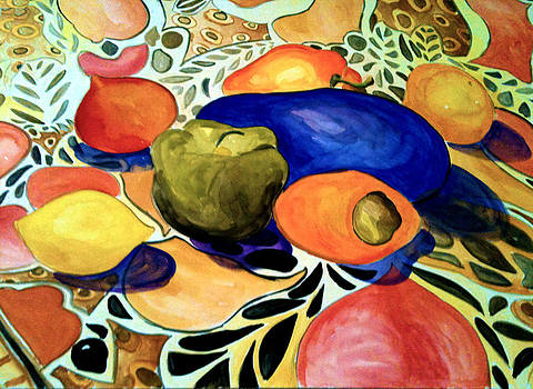 Patricia Lazaro - African Nature Table.