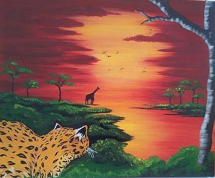 African Serenitiy by Paula Marley