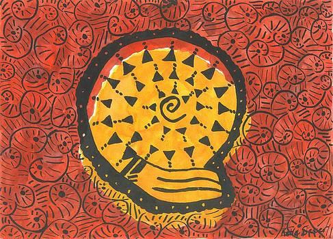 African Shell Pattern by Katie Sasser