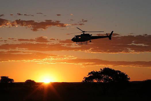 African Sunset II by Paul Job