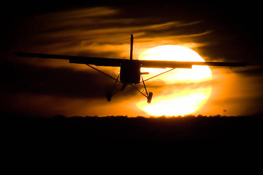African Sunset III by Paul Job
