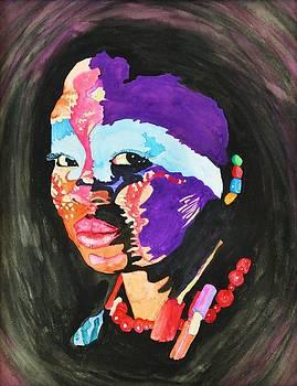 African Woman by Glenn Calloway