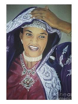 African Women-Ethiopian Adari Girl by JackieO Kelley
