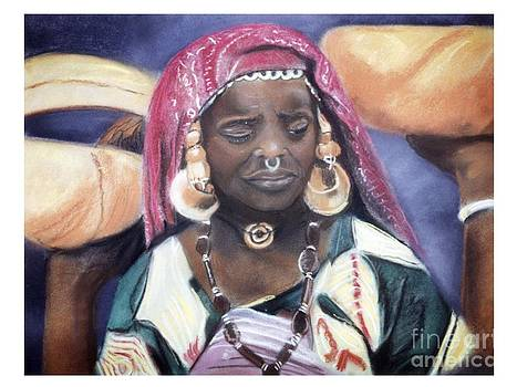 African Women Series-African Woman by JackieO Kelley