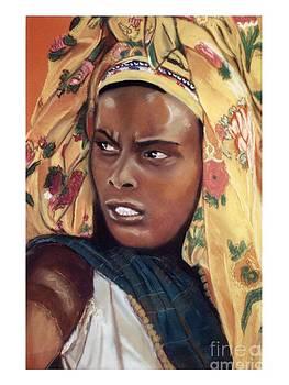 African Women Series-Ethiopian Woman by JackieO Kelley