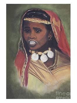 African Women Series-Fulani Woman by JackieO Kelley