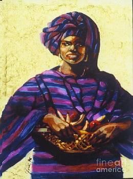 Afro Caribe fruit baskit by Jose Breaux