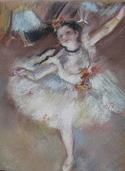 After Degas 1 by Dorothy Siclare