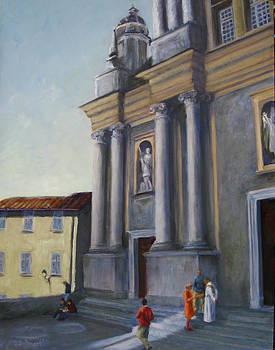 After Mass by Connie Schaertl