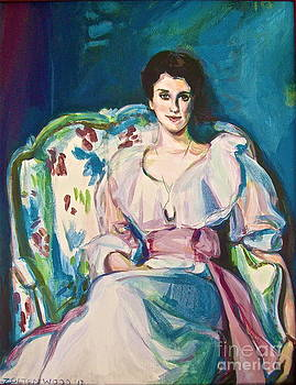 After Sargent Lady Agnew by Linda Zolten Wood