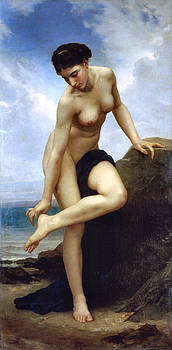 After The Bath by William Adolophe Bouguereau