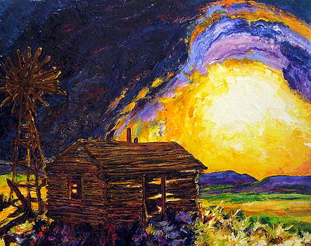 After the Dust Clears - the Prairie by Paris Wyatt Llanso