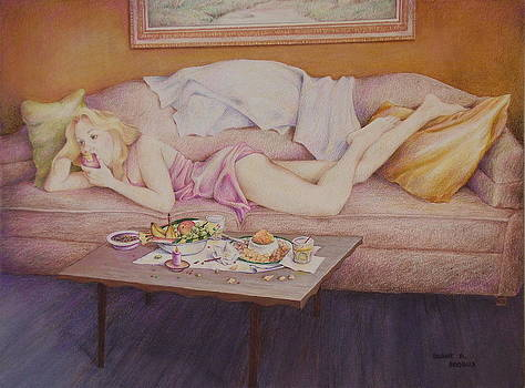 Lucky Couch by Duane R Probus